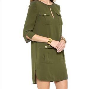 DVF Agness Army Dress